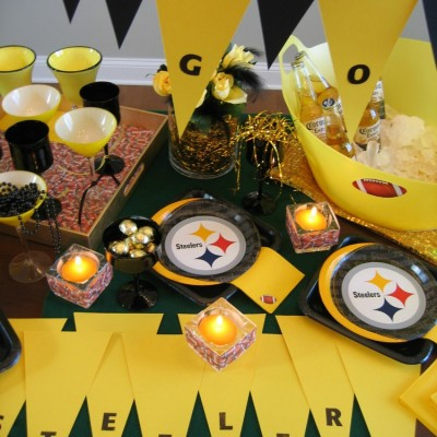 Pittsburgh Steelers Football Party Ideas