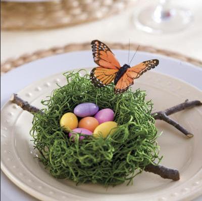 Easter Entertaining: Pretty Easter Table Decor