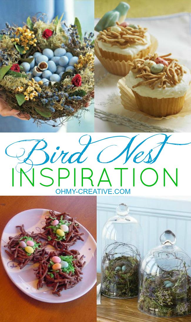 Spring Bird Nest Inspiration  |  OHMY-CREATIVE.COM