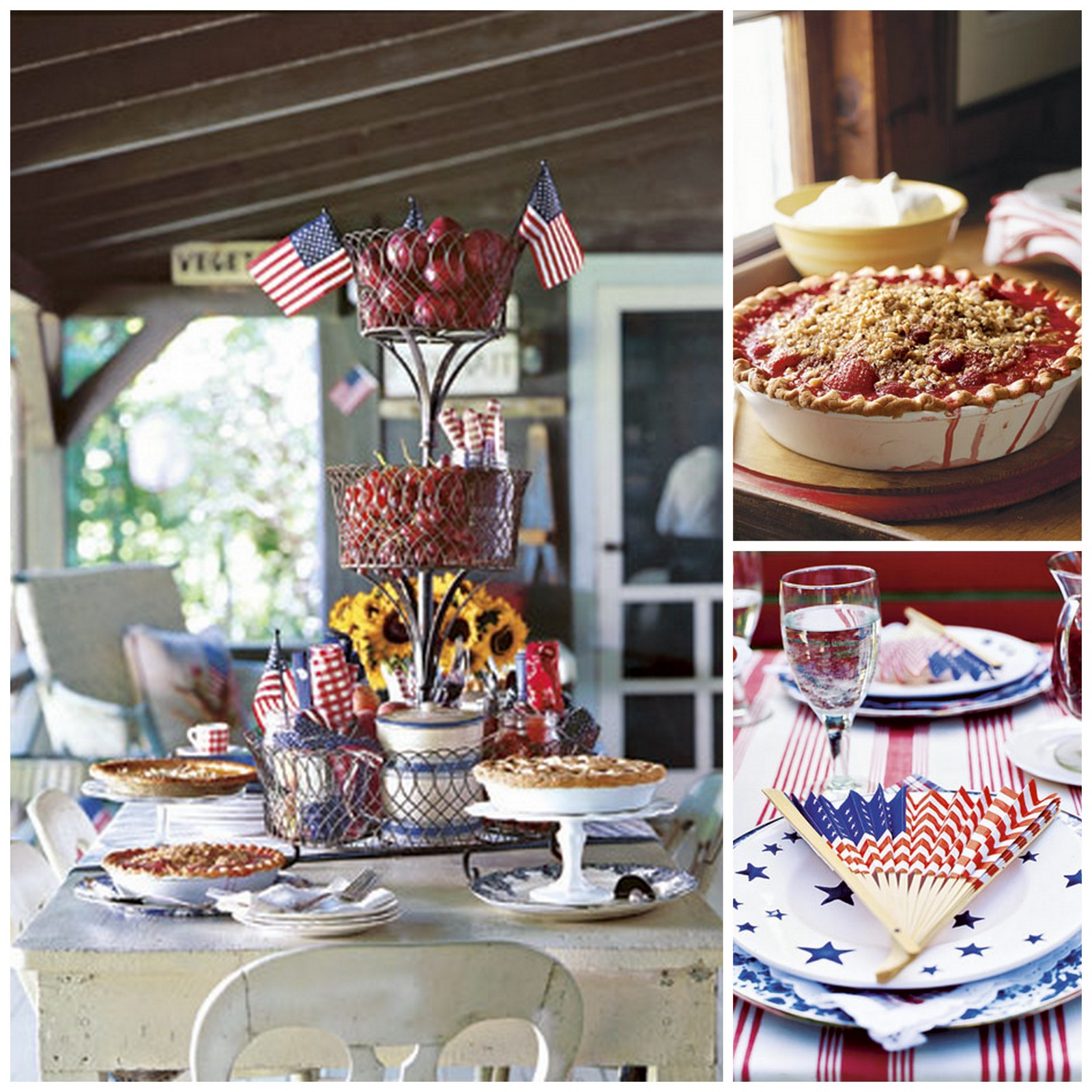 Homemade Decoration Ideas: 4Th Of July Homemade Decorations DIY