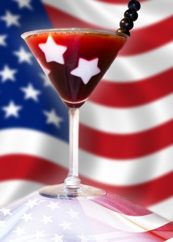 Star Studded Fourth of July Drinks