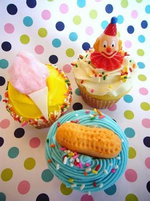 Carnival/Boardwalk Cupcakes