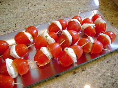 Vegetarian Recipes - Tomato and Mozzarella