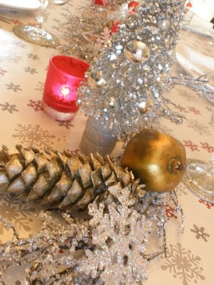 Holiday Breakfast Tablescape