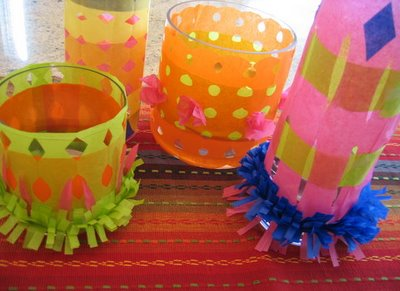 DIY Festive Mexican or Cinco De Mayo Centerpiece
