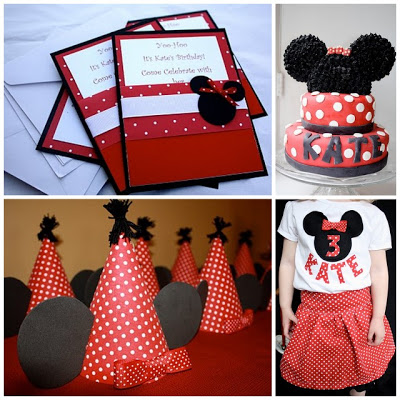 Minnie Mouse Girls Birthday Party