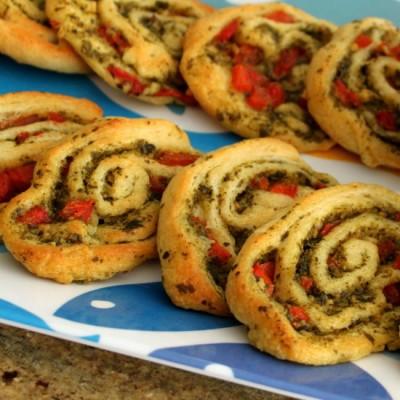 Pesto Pinwheel Appetizer