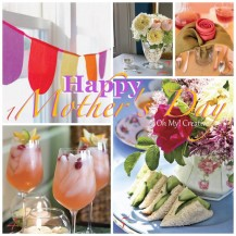 Mother's Day Inspiration and brunch ideas