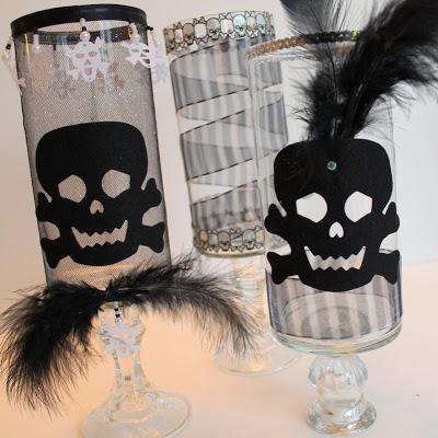 Haunting Halloween Candle Holders – DIY