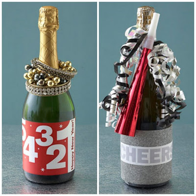New Years Eve Wine Label Printables And Hostess Gift Ideas
