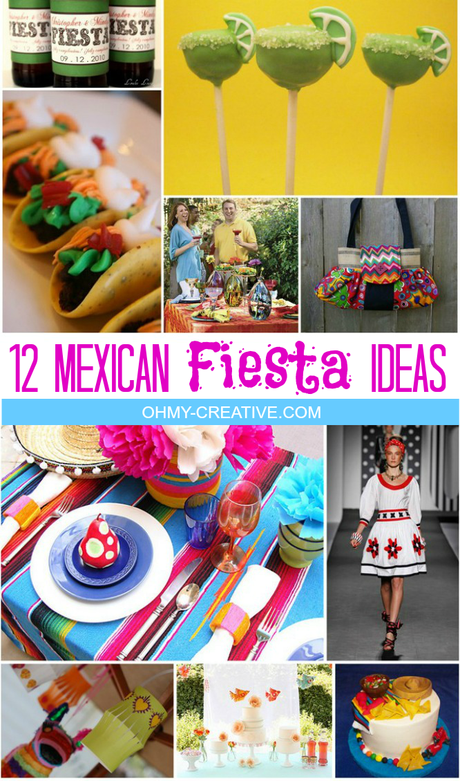 12 Mexican Fiesta Party Ideas and Inspiration | OHMY-CREATIVE.COM