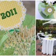 Daisy Graduation Party Theme