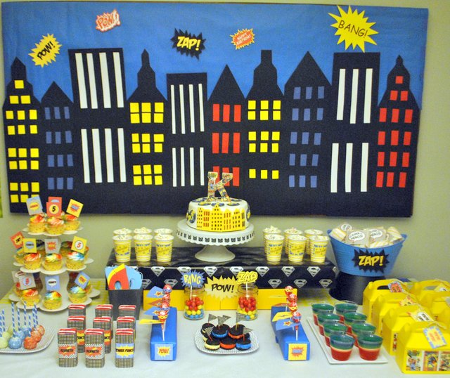 Superhero birthday party oh my creative