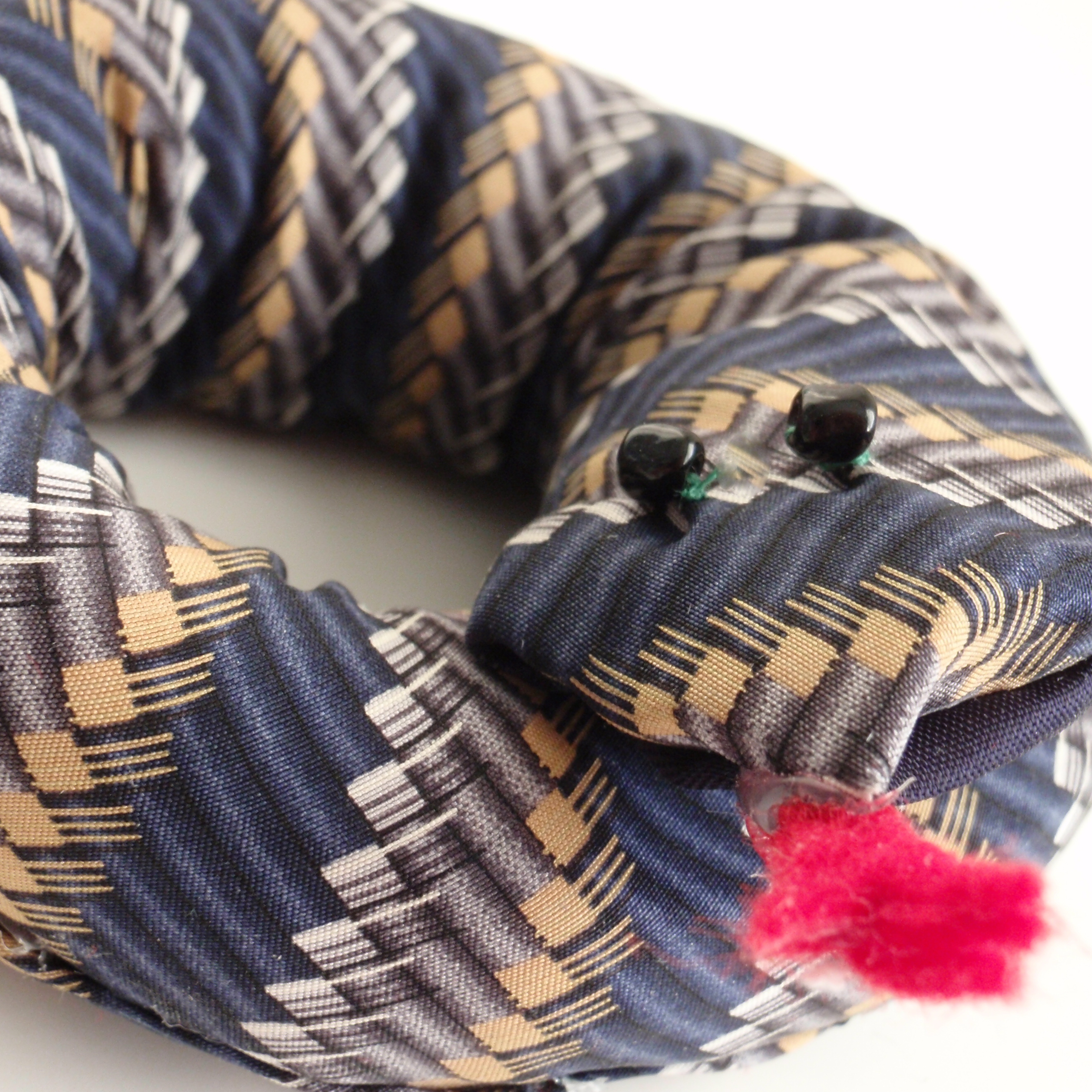 Snake Toy {From a Tie}