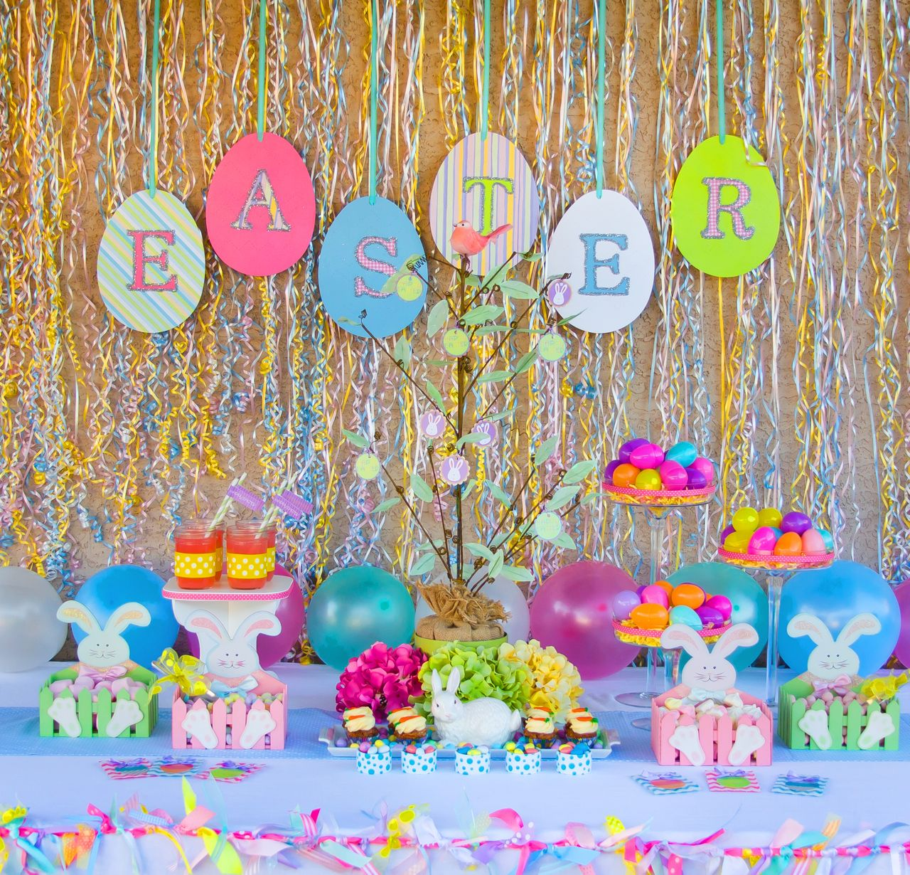 Patriotic Home Decor Ideas Easter Party Ideas Oh My Creative