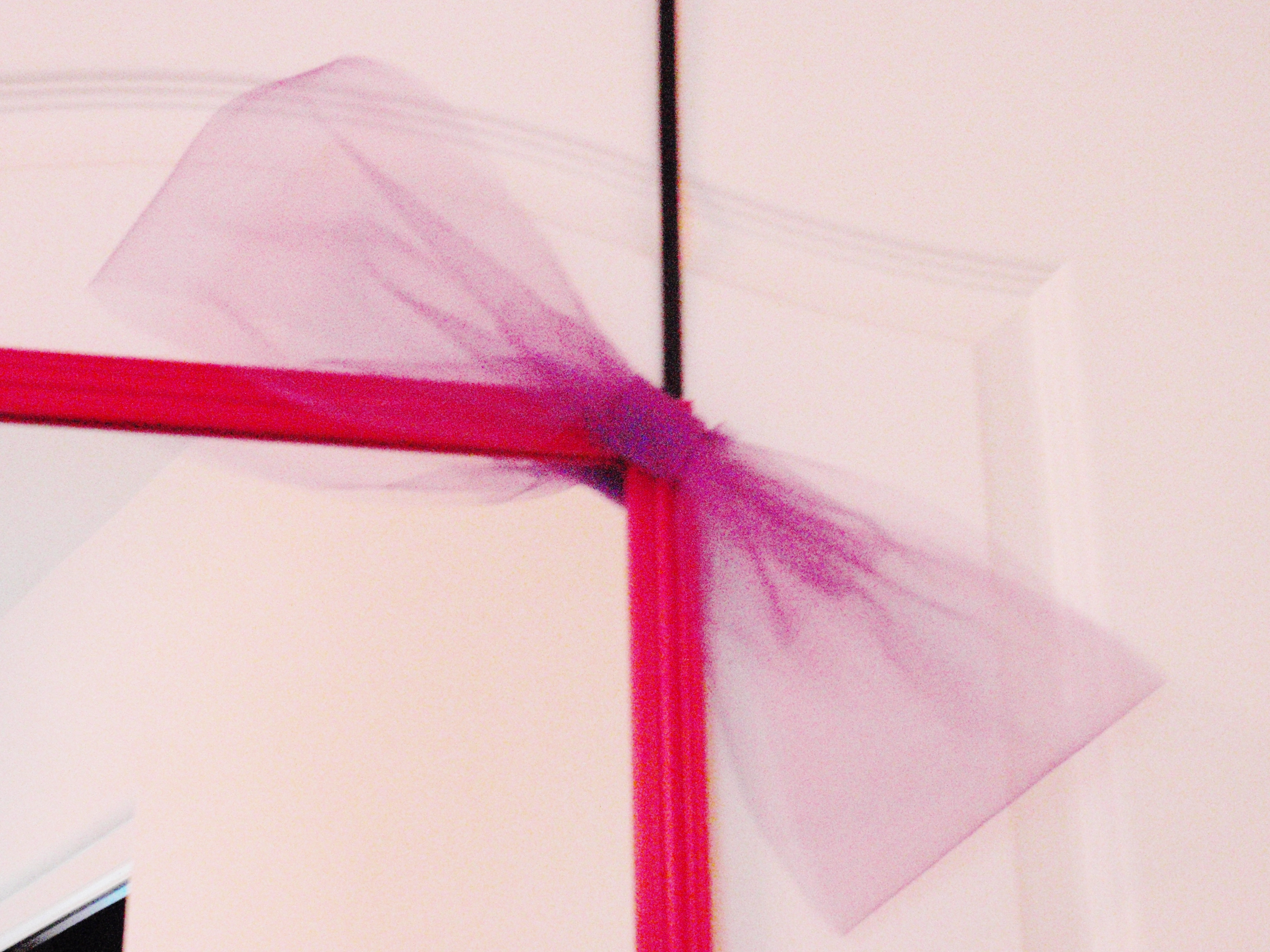No-Sew Tulle Bow