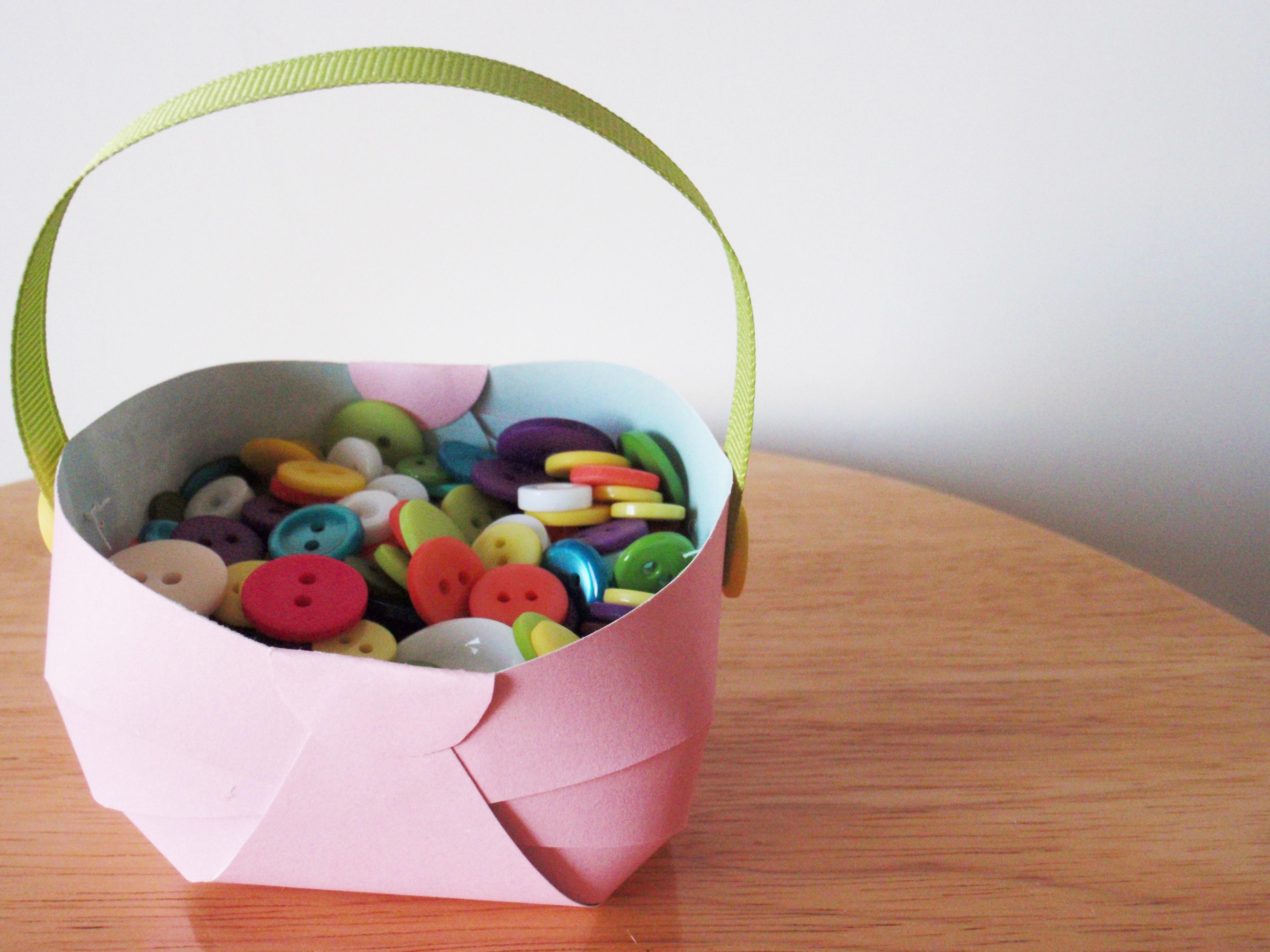 Mini Spring Easter Basket
