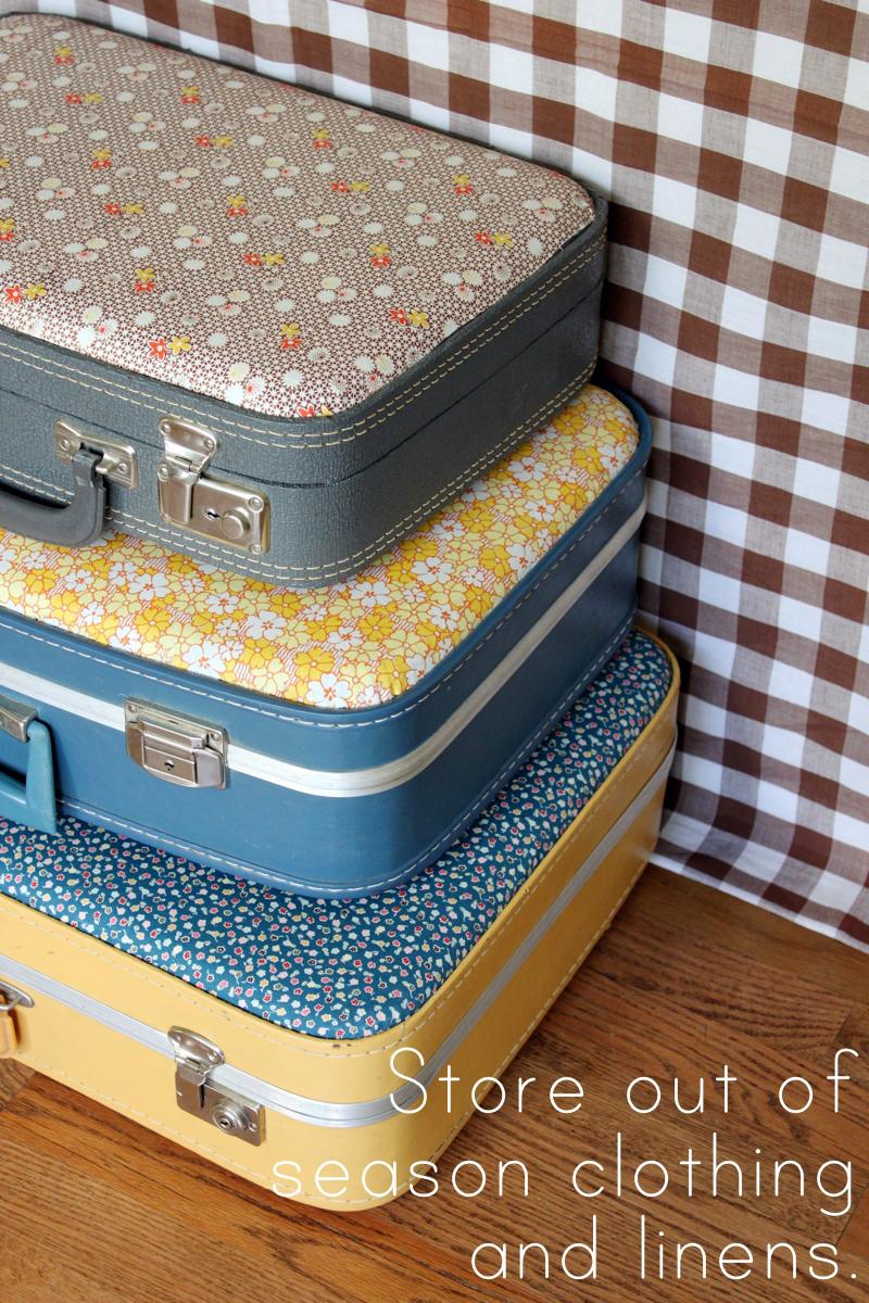 20 Diy Vintage Suitcase Decorating Ideas Oh My Creative