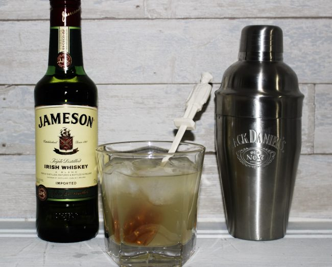 St. Patrick's Day Drink featuring Jameson Whisky to make a sweet lemondade