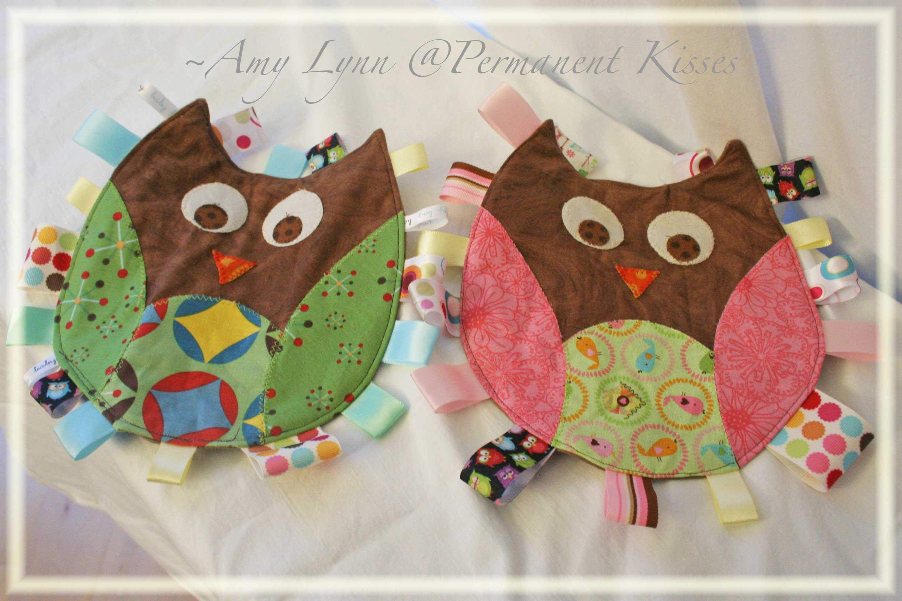 Owl Taggies
