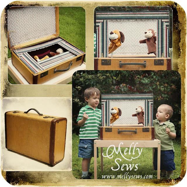 Home Theater Design Ideas Diy: 20 DIY Vintage Suitcase Decorating Ideas!