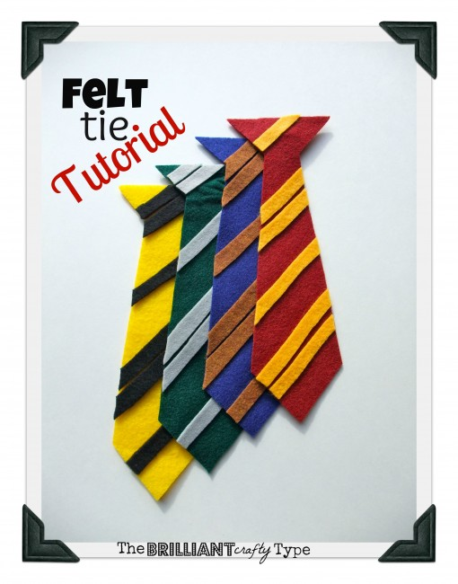 Felt-Hogwarts-Ties