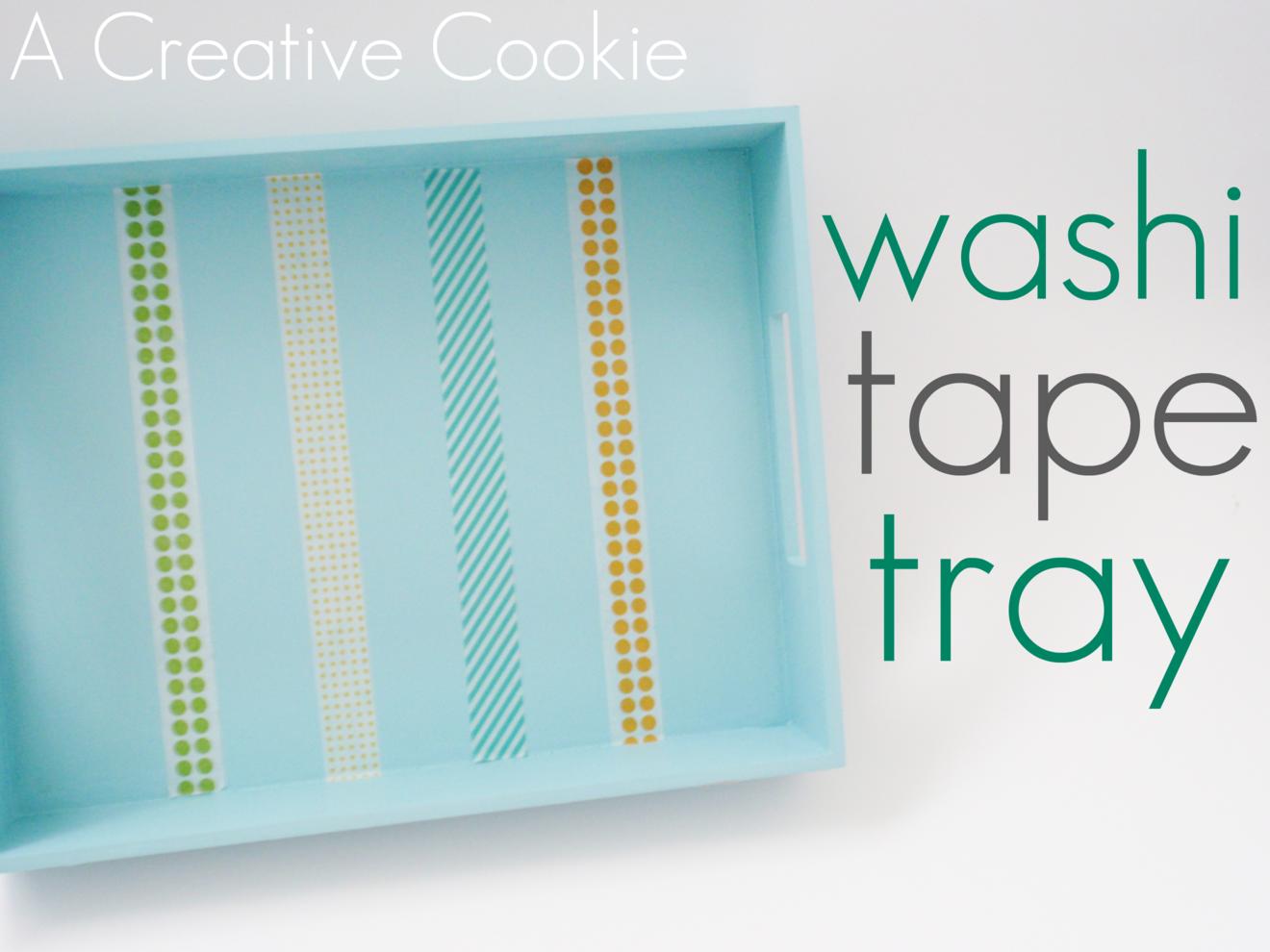 Washi Tape Tray