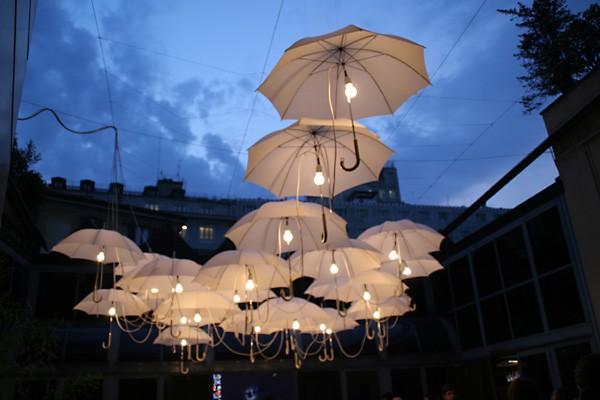 Outdoor Umbrella Lighting Outdoor umbrella lighting oh my creative outdoor umbrella lighting workwithnaturefo