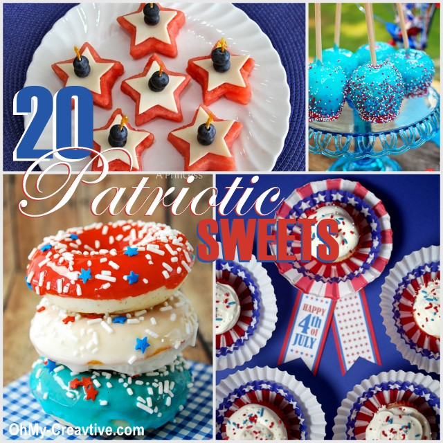 20 Patiotic Desserts - Oh My! Creative