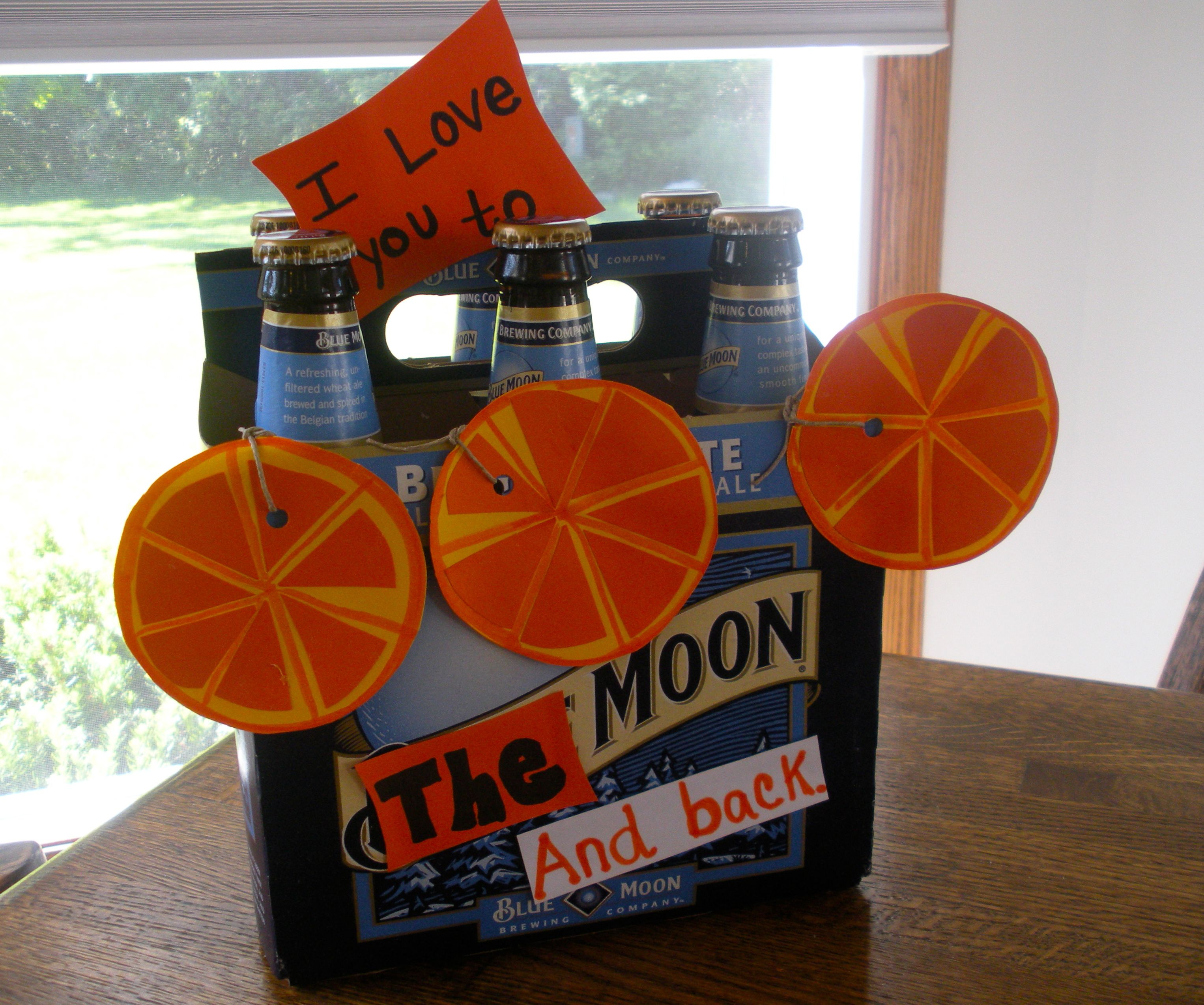 Blue Moon gift idea for him