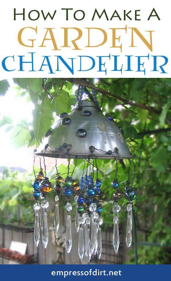 Funky backyard garden ideas - Diy Chandeliers And Outdoor Lighting Oh My Creative