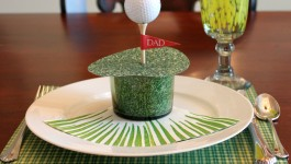 Golf Father's Day Placecard 5