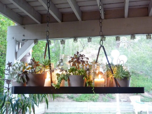 DIY Chandeliers and Outdoor Lighting Oh My Creative – Candle Chandelier Outdoor