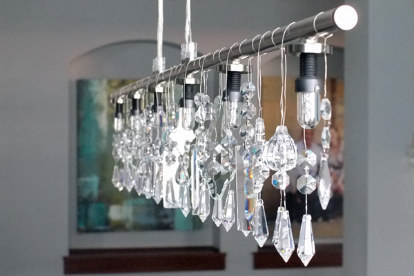 Homemade Chandelier Ideas: DIY Chandeliers and Outdoor Lighting,Lighting