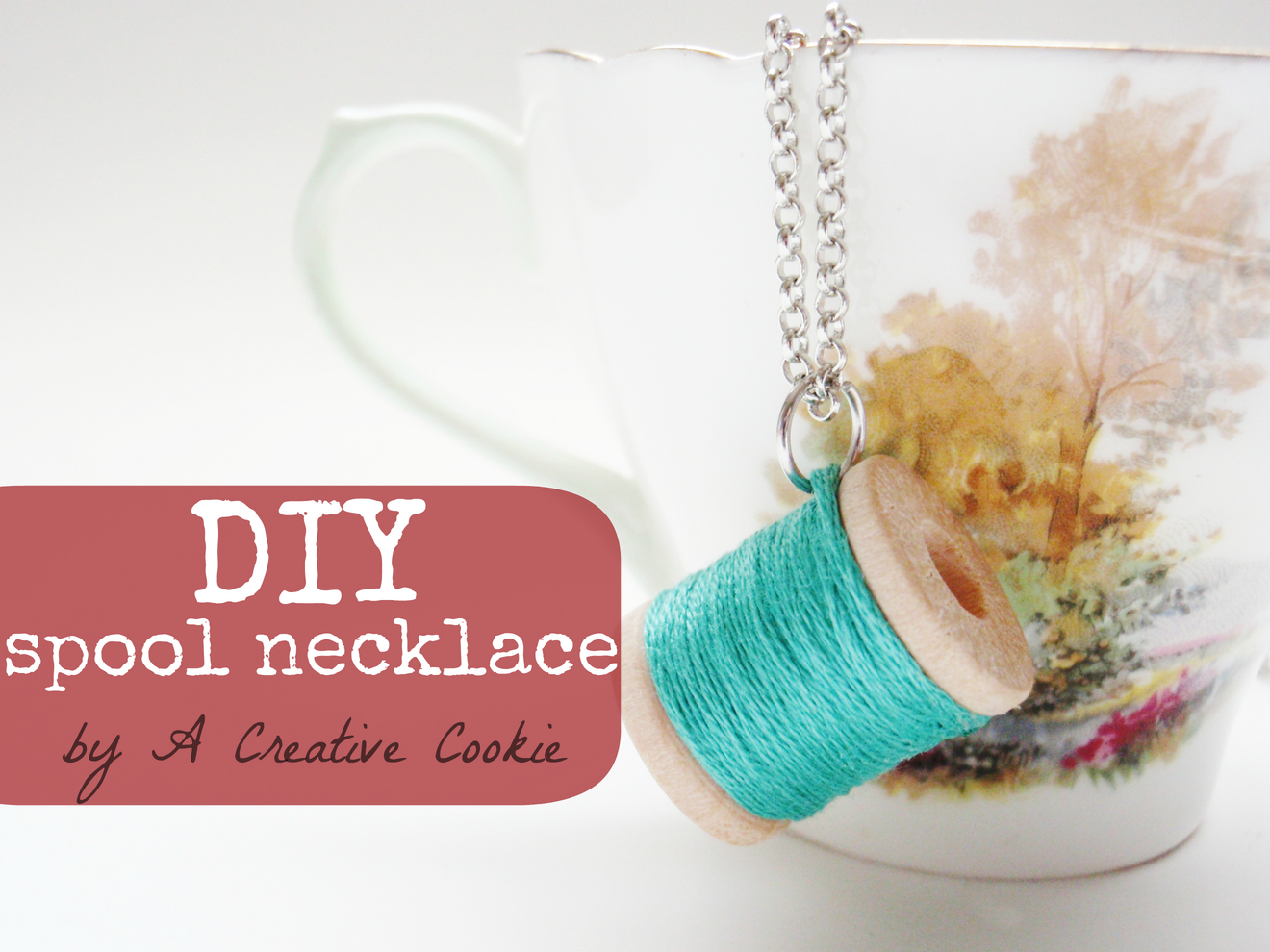 DIY Spool Necklace