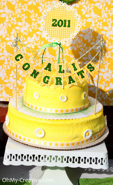 Turn a Grocery Store Cake Into A Custom Design Cake
