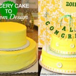Grocery Cake to Custom Cake