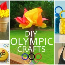 DIY OLYMPIC CRAFTS