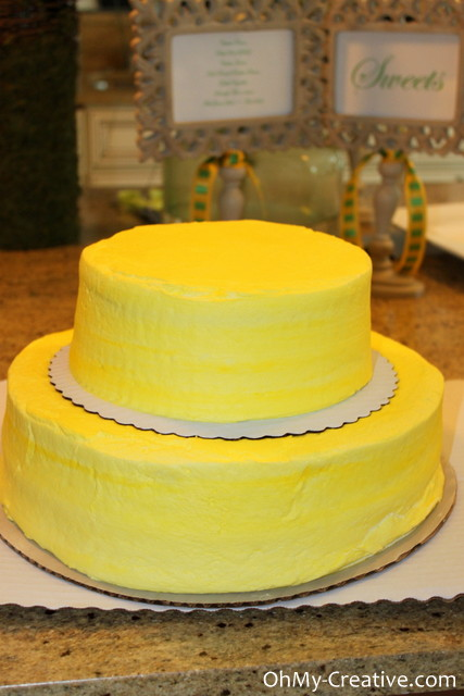 Grocery store cake