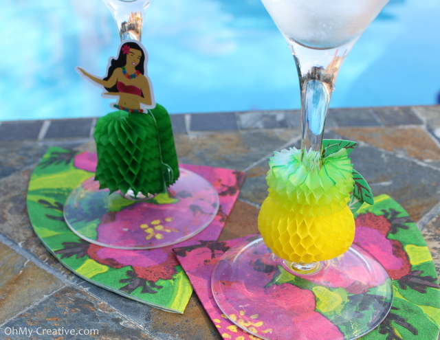 Honeycomb Wine Glass Charms
