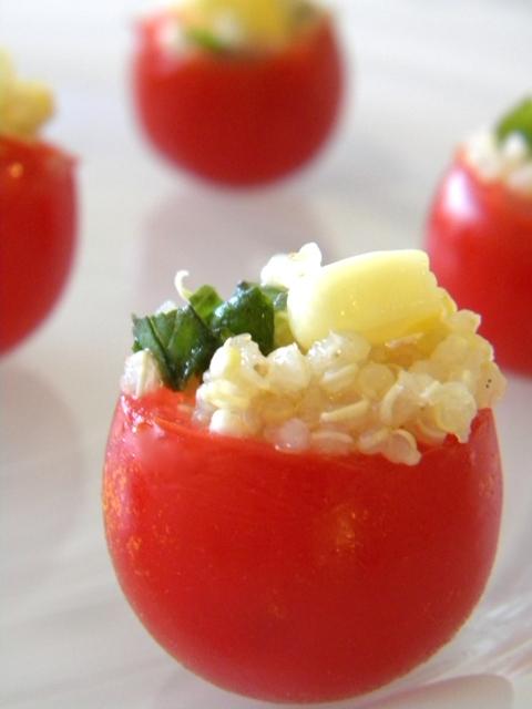 Quinoa Tomato Bites