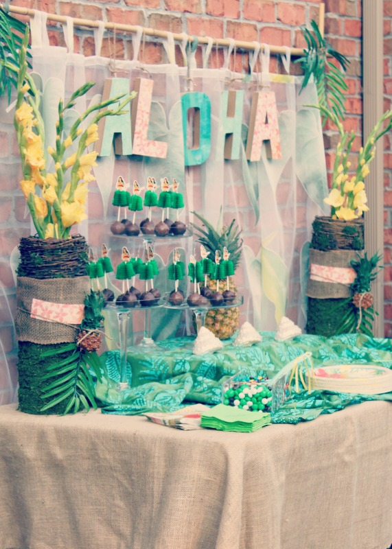Vintage Luau Party Style Oh My Creative