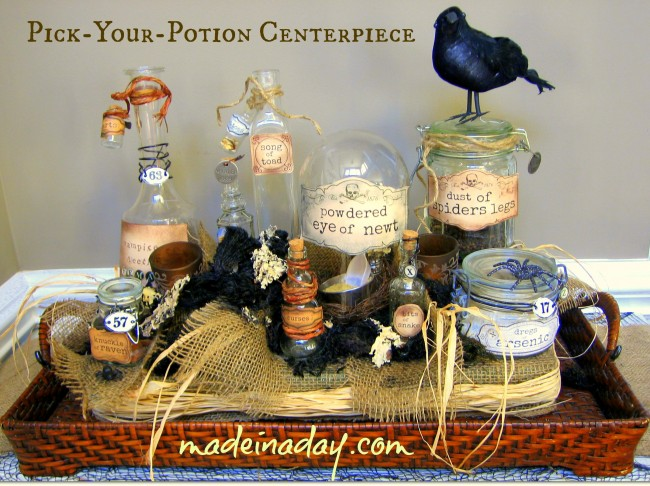Pick-Your-Potion-Centerpiece