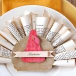 Thanksgiving turkey placecard