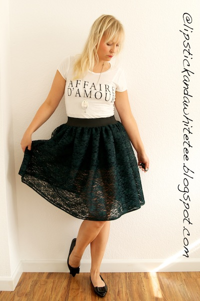 DIY Lace Tutu skirt