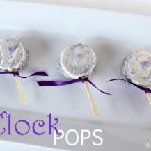 Oreo Clock Pops