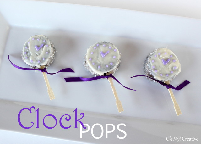 New Year's Clock Pops