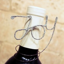 joy wine charm horizonal