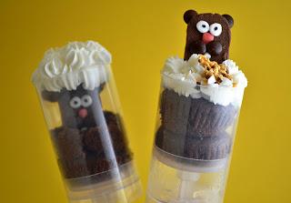Groundhog day pushup pop dessert