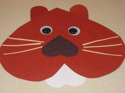 Groundhog Day Kids Craft